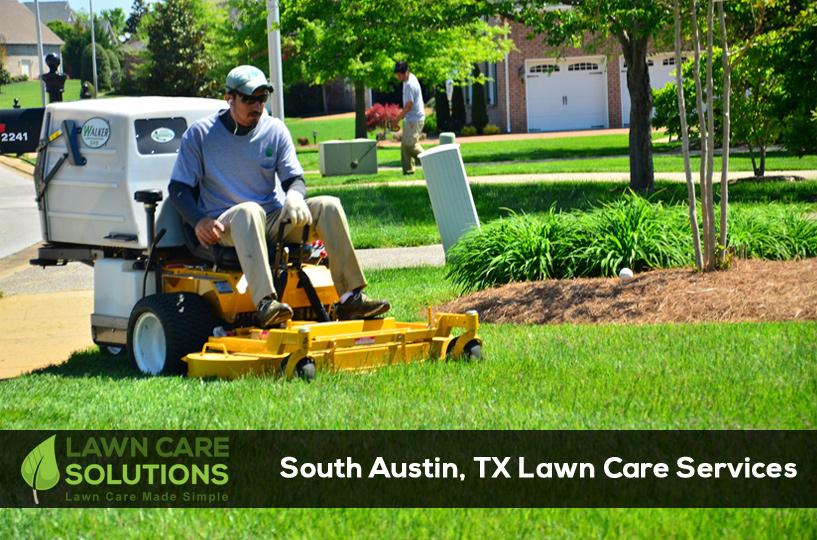 South Austin TX lawn care service